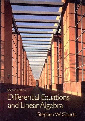 9780132637572: Differential Equations and Linear Algebra (2nd Edition)