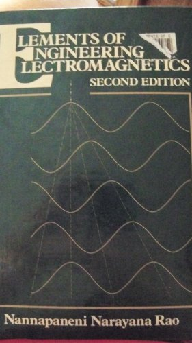 Elements Of Engineering Electromagnetics By Nannapaneni Narayana Rao Pdf