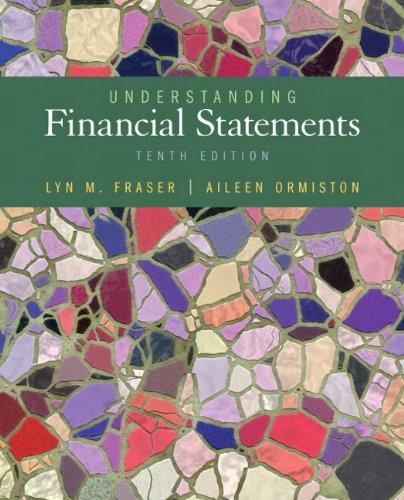 9780132655064: Understanding Financial Statements (10th Edition)