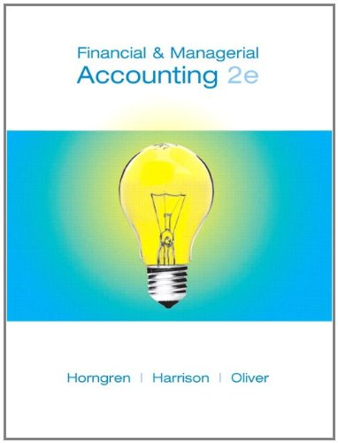 9780132655491: Financial and Managerial Accounting, Chapters 1-23, Complete Book and MyAccountingLab with Pearson eText Package