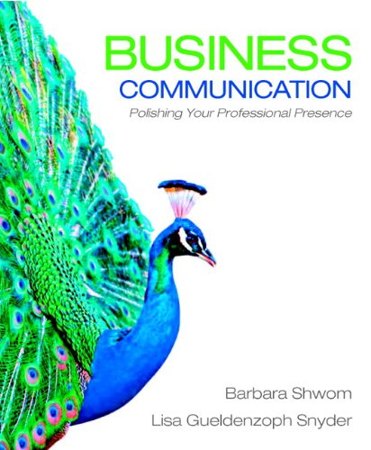 9780132658744: Business Communication: Polishing Your Professional Presence Plus 2012 MyBCommLab with Pearson eText -- Access Card Package