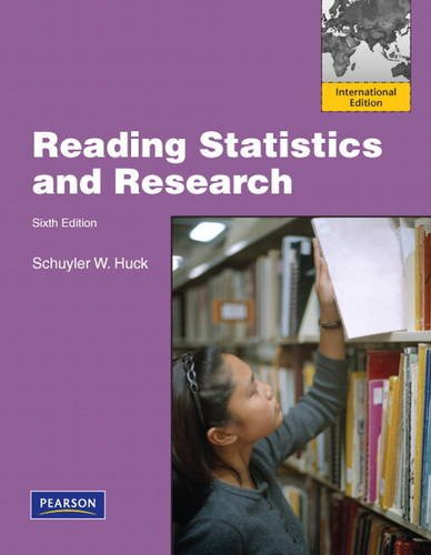 9780132659093: Reading Statistics and Research