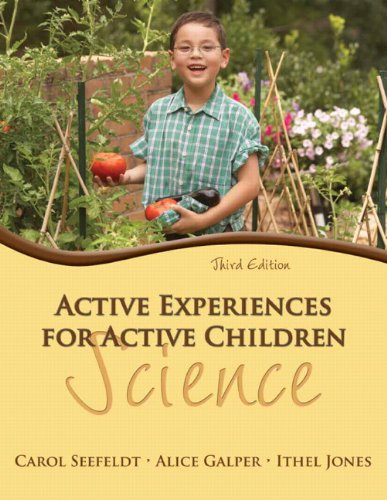 9780132659550: Active Experiences for Active Children: Science (3rd Edition)