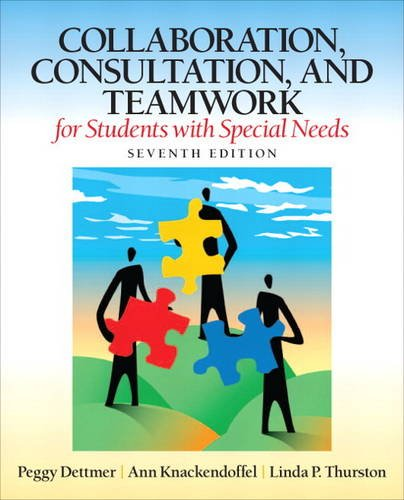 9780132659673: Collaboration, Consultation, and Teamwork for Students with Special Needs