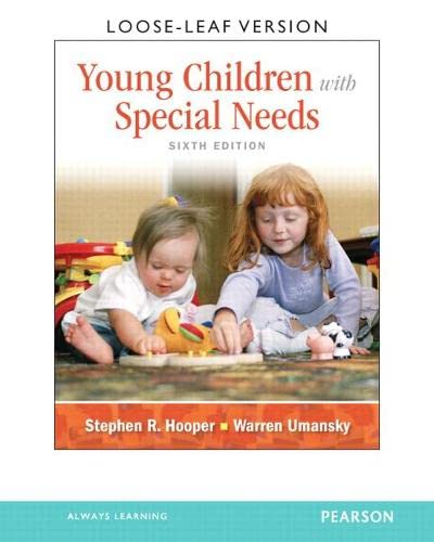 9780132659833: Young Children With Special Needs, Loose-Leaf Version (6th Edition)