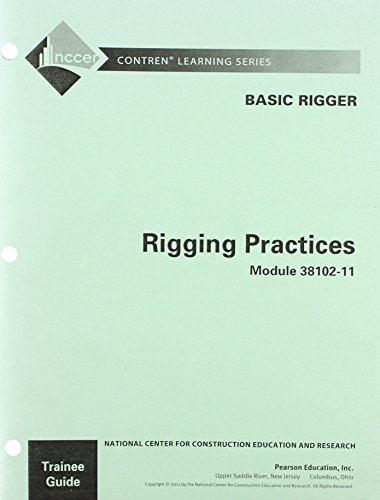 9780132661775: 38102-11 Rigging Practices TG