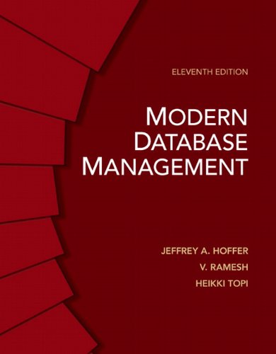Modern Database Management (11th Edition): Topi, Heikki; Venkataraman,