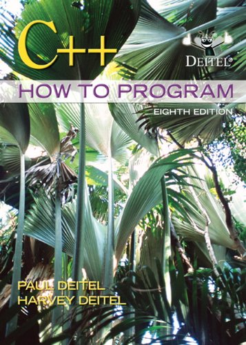 9780132662369: C++ How to Program (8th Edition)