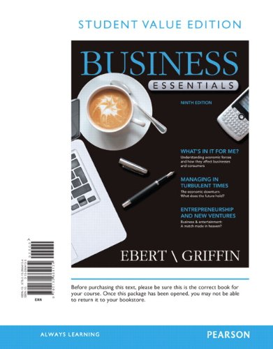 9780132664134: Business Essentials, Student Value Edition