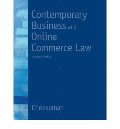 9780132664424: Contemporary Business and Online Commerce Law (Instructor's Review Copy)