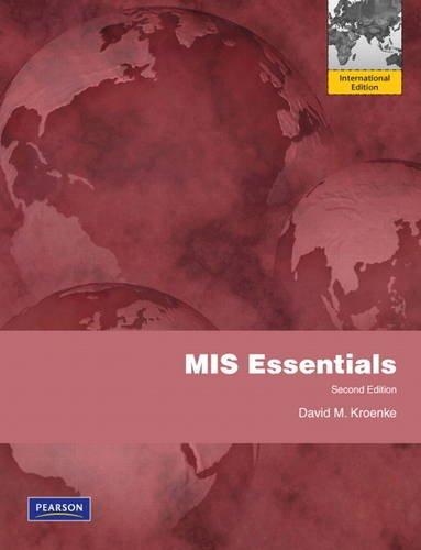 9780132665001: MIS Essentials