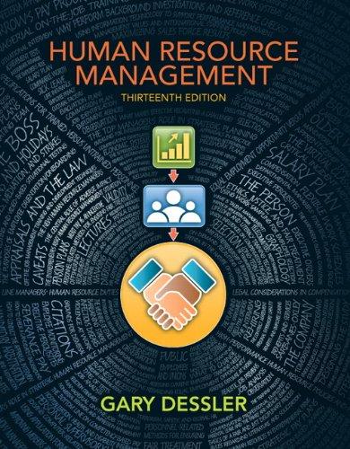 9780132668217: Human Resource Management