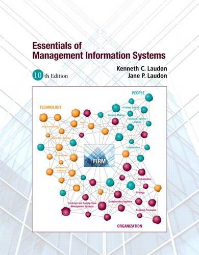 Essentials of MIS: Jane P. Laudon;