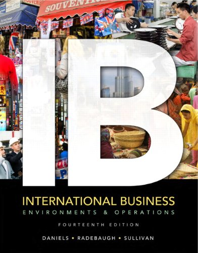 9780132668668: International Business: Environments and Operations