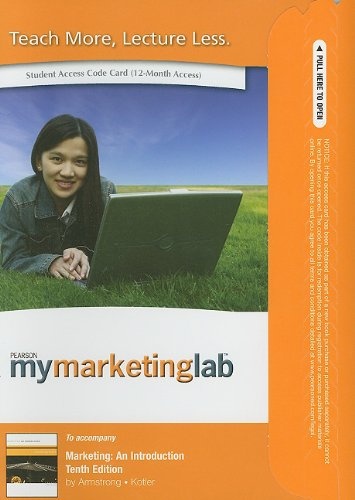 9780132669047: MyMarketingLab Student Access Code for Marketing: An Introduction