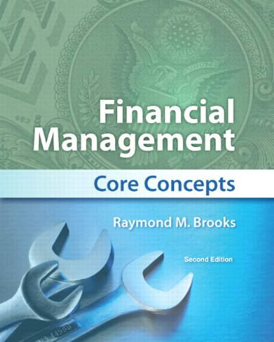 Financial Management : Core Concepts: Raymond Brooks