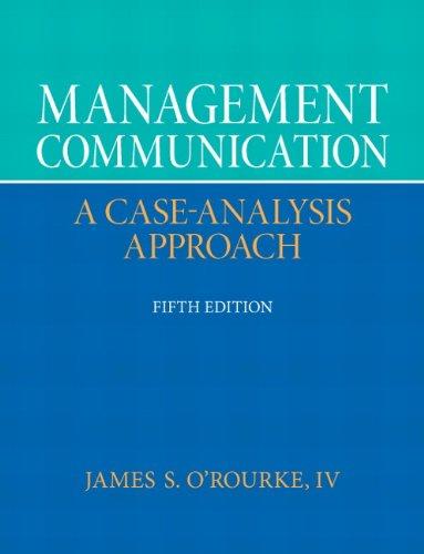 Management Communication (5th Edition)