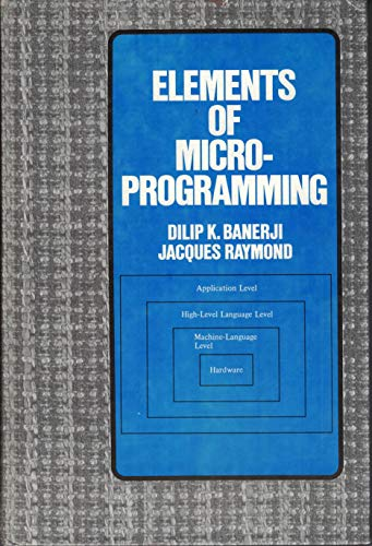 9780132671460: Elements of Microprogramming (Prentice-hall Software Series)