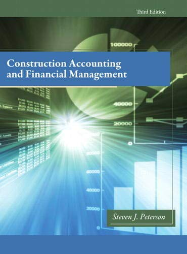9780132675055: Construction Accounting & Financial Management (3rd Edition)