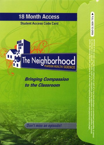 9780132675123: Neighborhood, The -- Access Card (18-month access)