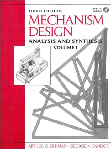 9780132677820: Mechanism Design: Analysis and Synthesis: Vol. 1
