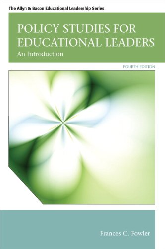 9780132678117: Policy Studies for Educational Leaders: An Introduction (4th Edition) (Allyn & Bacon Educational Leadership)