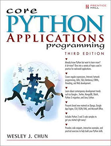 9780132678209: Core Python Applications Programming (3rd Edition) (Core Series)