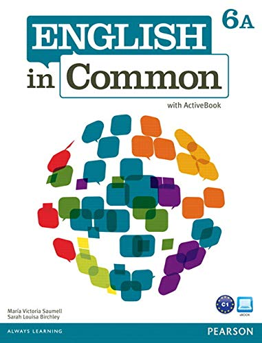 9780132678933: English in Common 6A Split: Student Book with ActiveBook and Workbook and MyLab English