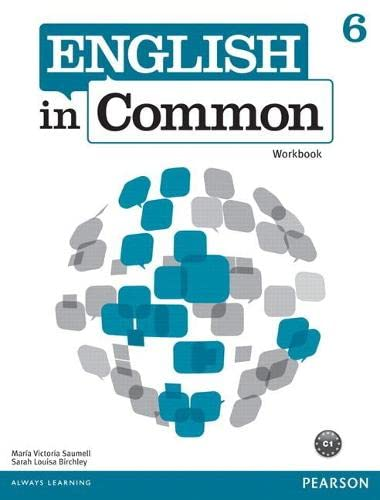 9780132678964: English in Common 6 Workbook