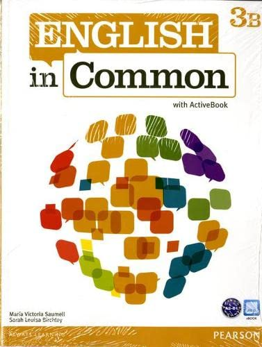 9780132679015: English in Common 3B Split: Student Book with ActiveBook and Workbook and MyEnglishLab