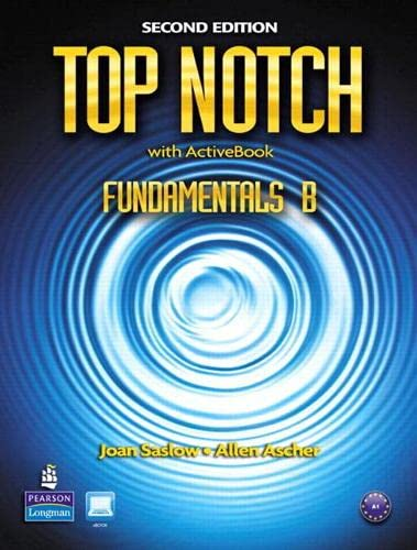 9780132679206: Top Notch Fundamentals B Split: Student Book with ActiveBook and Workbook and MyLab English