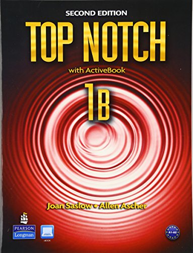 9780132679220: Top Notch 1B Split: Student Book with ActiveBook and Workbook and MyLab English