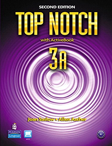 9780132679268: Top Notch 3A Split: Student Book with ActiveBook and Workbook and MyEnglishLab