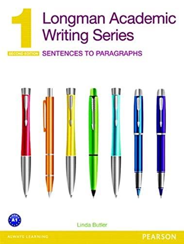 9780132679381: Longman academic writing. Series 1. Per le Scuole superiori. Con espansione online
