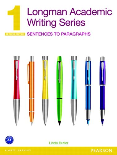 9780132679381: Longman Academic Writing Series 1: Sentences to Paragraphs (2nd Edition)