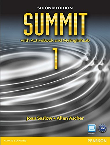 9780132679862: Summit 1 with ActiveBook and MyEnglishLab