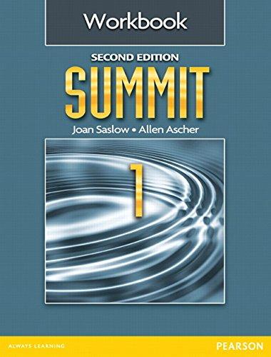 9780132679879: Summit 1 Workbook