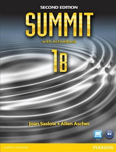 9780132679909: Summit 1B Split: Student Book with ActiveBook and Workbook