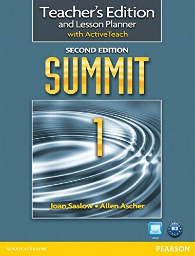 9780132679923: Summit 1 Teacher's Edition with ActiveTeach