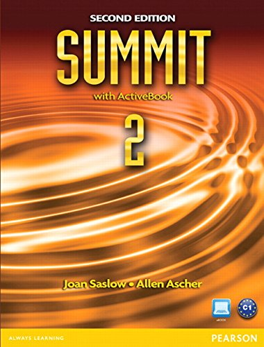 9780132679954: Summit 2 with ActiveBook: (2nd Edition)