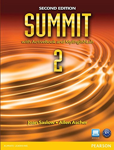 9780132679961: Summit 2 with Active Book & Myenglishlab