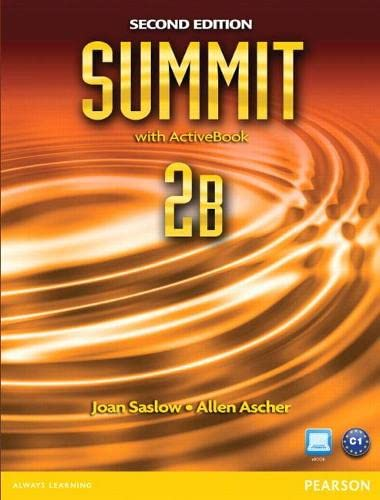 9780132680004: Summit 2B Split: Student Book with ActiveBook and Workbook