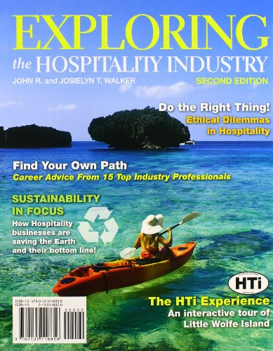 9780132680479: Exploring the Hospitality Industry with Hospitality Interactive Customer Access Code Card (2nd Edition)