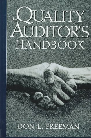 9780132682022: The Quality Auditor's Handbook