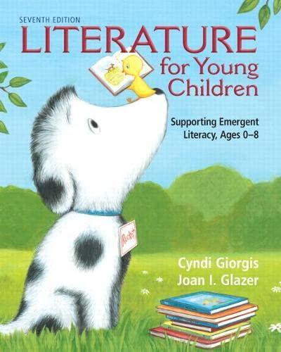 Literature for Young Children: Glazer, Joan I.;