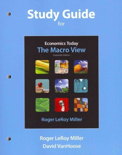 9780132686938: Study Guide for Economics Today: The Micro View and Study Guide for Economics Today: The Macro View Package