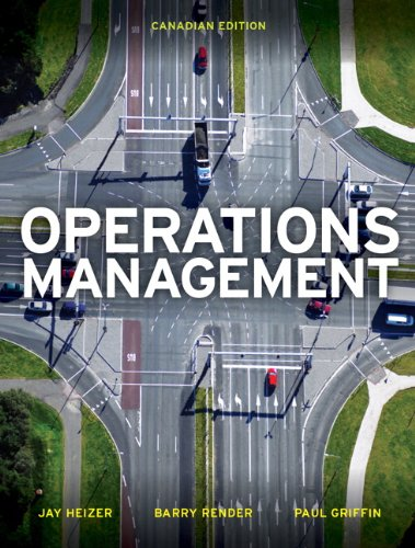 9780132687584: Operations Management, First Canadian Edition