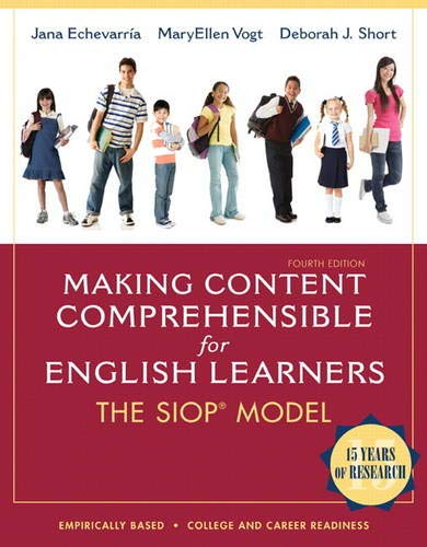 9780132689724: Making Content Comprehensible for English Learners: The SIOP Model (4th Edition)