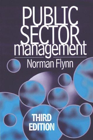 9780132692595: Public Sector Management
