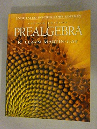 9780132693172: Prealgebra